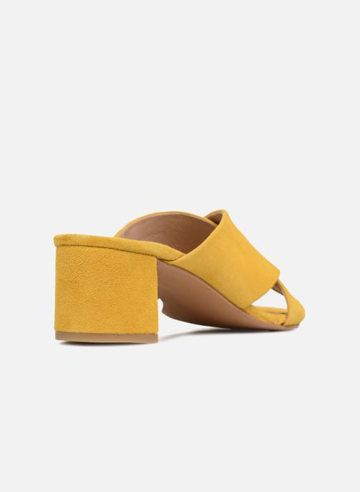 Zoccoli Made by SARENZA UrbAfrican Mules #4 Giallo immagine frontale