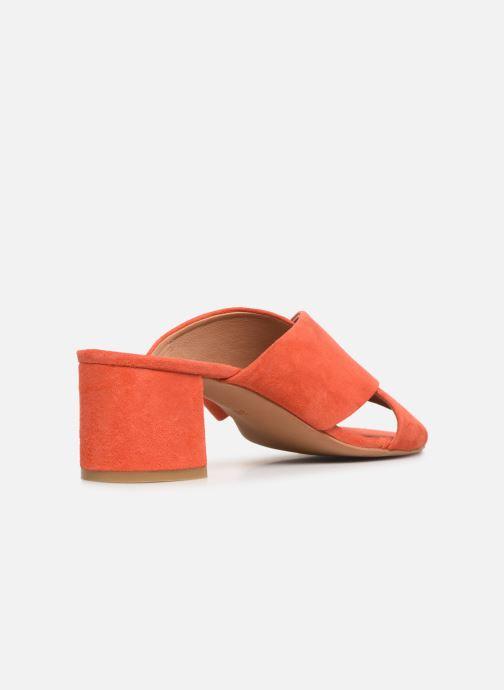 Wedges Made by SARENZA UrbAfrican Mules #4 Oranje voorkant