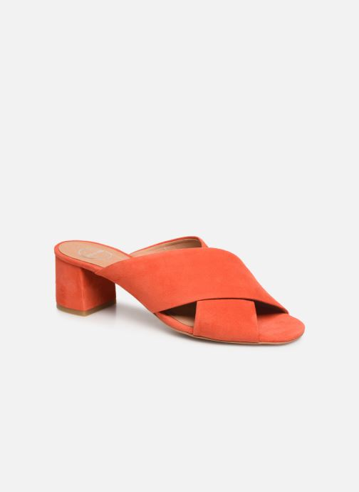 Wedges Made by SARENZA UrbAfrican Mules #4 Oranje rechts