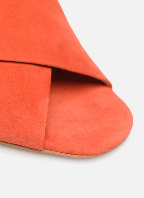 Wedges Made by SARENZA UrbAfrican Mules #4 Oranje links