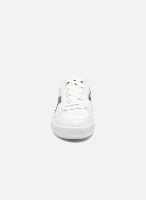 Baskets Diadora B. ELITE Blanc vue portées chaussures