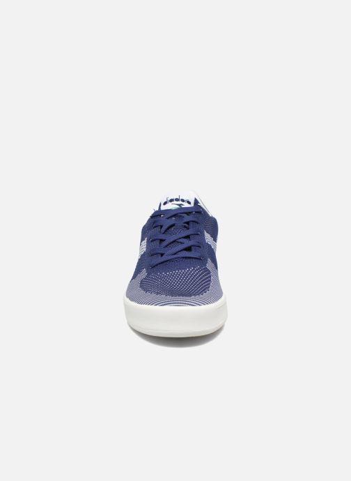 Baskets Diadora B.ELITE SPW WEAVE Bleu vue portées chaussures