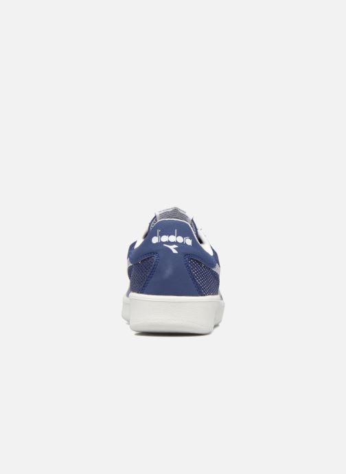 Baskets Diadora B.ELITE SPW WEAVE Bleu vue droite