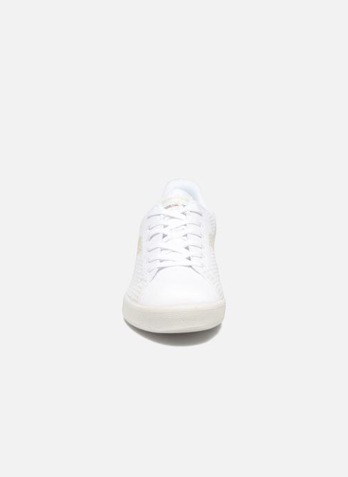 Baskets Diadora GAME WEAVE Blanc vue portées chaussures