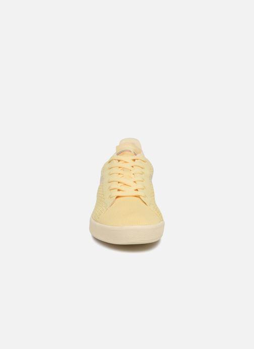 Baskets Diadora GAME WEAVE Beige vue portées chaussures