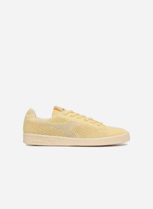 Trainers Diadora GAME WEAVE Beige back view