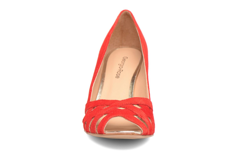 Escarpins Georgia Rose Cordova Rouge vue portées chaussures