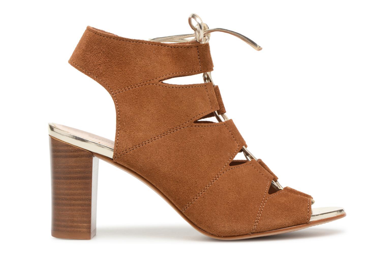 Sandales et nu-pieds Georgia Rose Calista Marron vue derrière