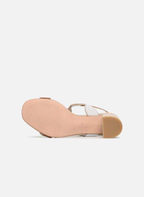 Sandales et nu-pieds Georgia Rose Covala Beige vue haut