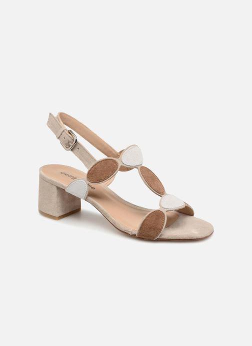 Sandales et nu-pieds Georgia Rose Covala Beige vue détail/paire