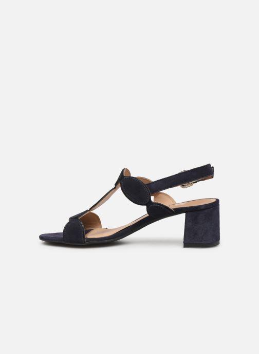 Sandales et nu-pieds Georgia Rose Covala Bleu vue face