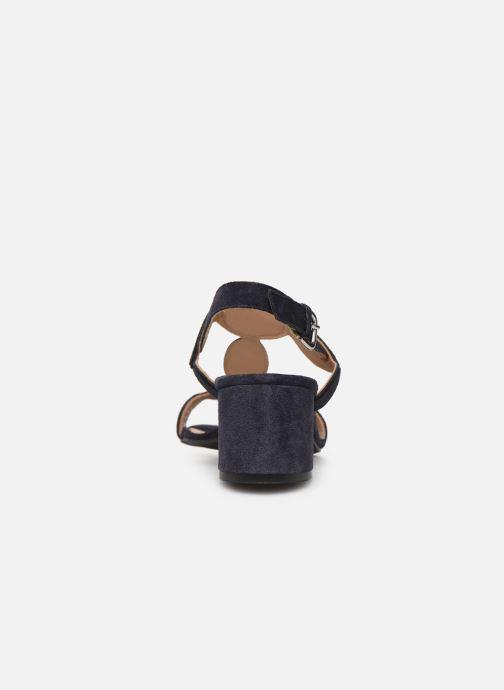Sandales et nu-pieds Georgia Rose Covala Bleu vue droite