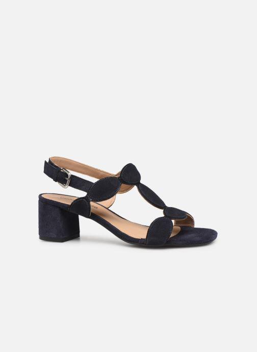 Sandales et nu-pieds Georgia Rose Covala Bleu vue derrière