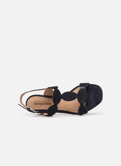 Sandales et nu-pieds Georgia Rose Covala Bleu vue gauche
