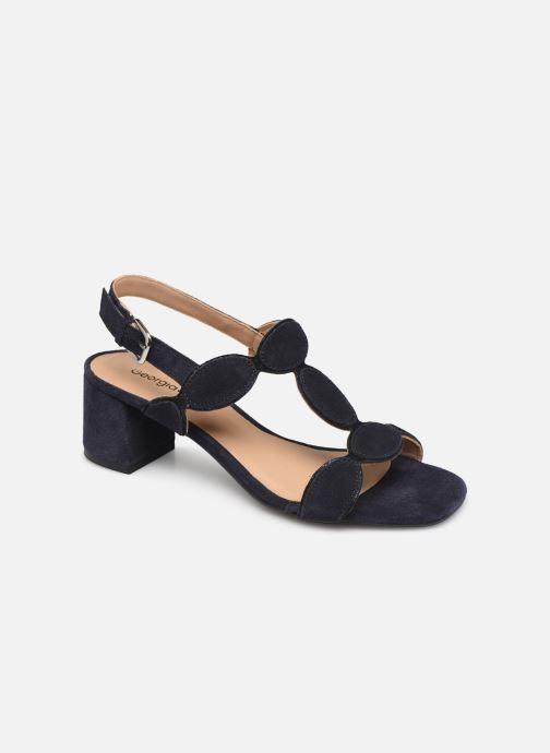 Sandales et nu-pieds Georgia Rose Covala Bleu vue détail/paire