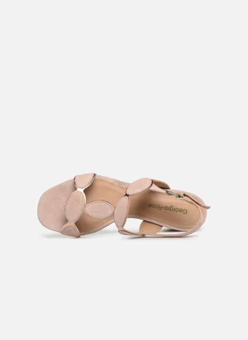 Sandales et nu-pieds Georgia Rose Covala Rose vue gauche