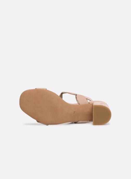 Sandales et nu-pieds Georgia Rose Covala Rose vue haut
