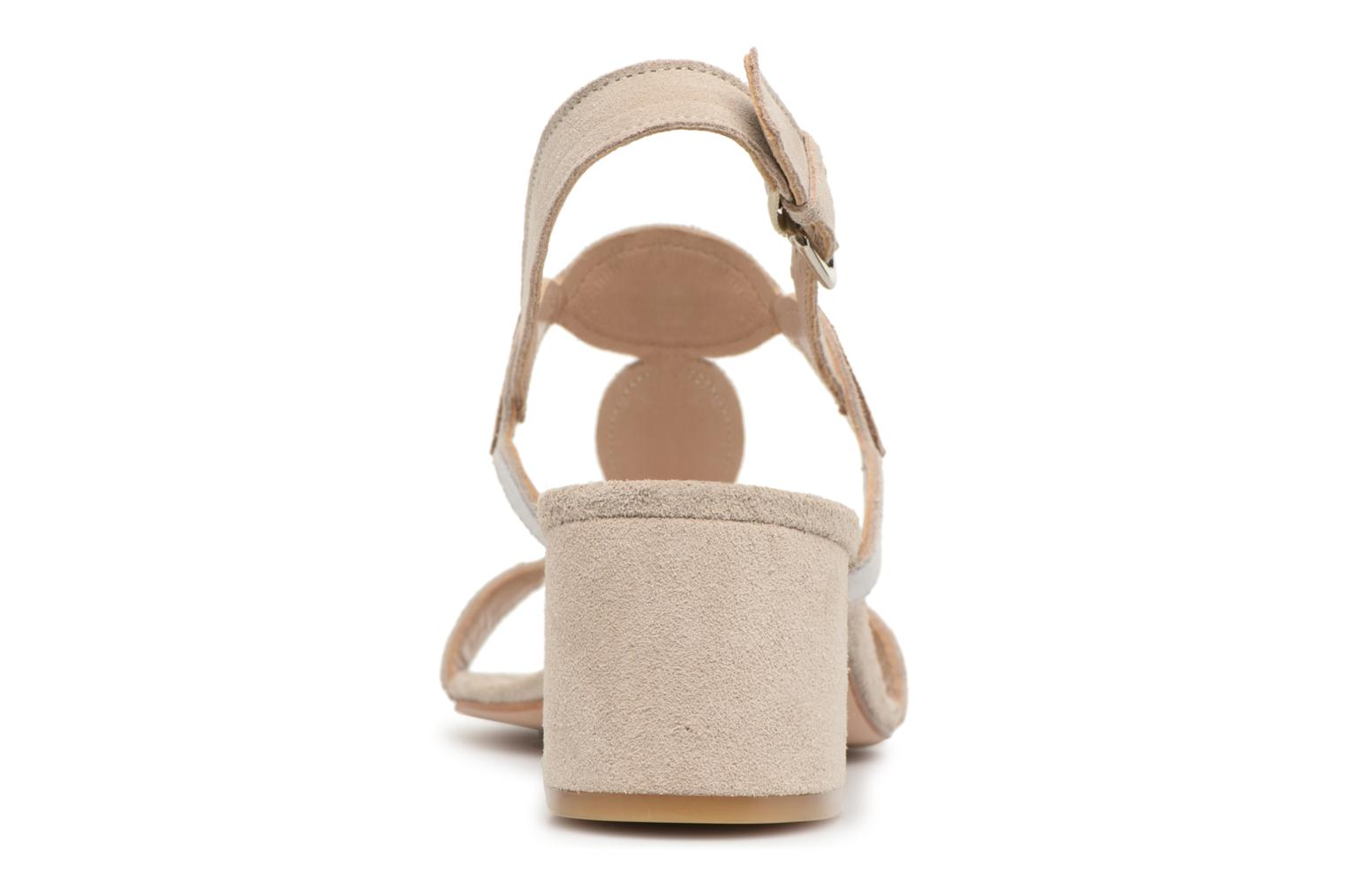Sandals Georgia Rose Covala Beige view from the right