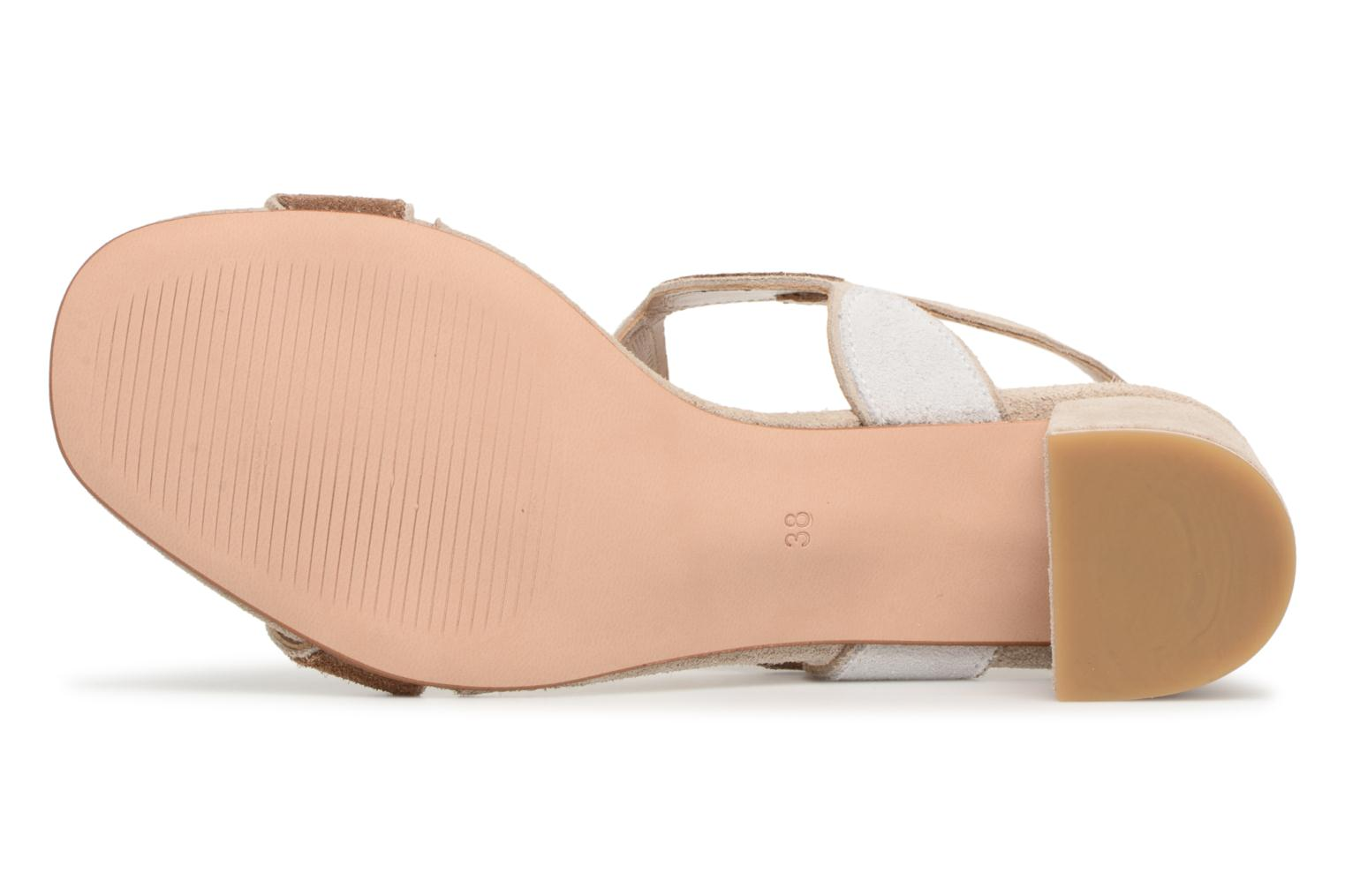 Sandals Georgia Rose Covala Beige view from above