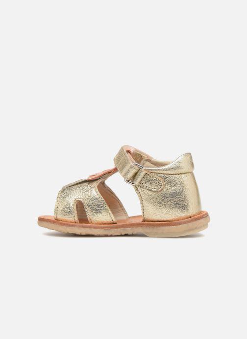 Sandales et nu-pieds Noël Mini Sava Or et bronze vue face