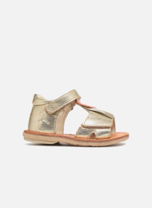 Sandales et nu-pieds Noël Mini Sava Or et bronze vue derrière