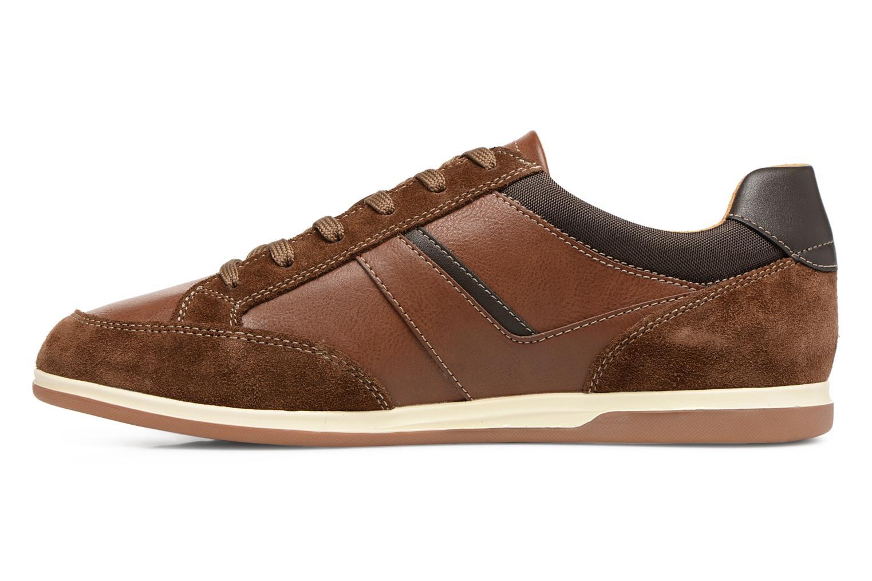 Sneakers Geox U RENAN C U824GC Bruin voorkant