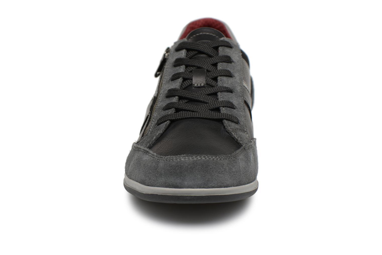 Baskets Geox U RENAN C U824GC Noir vue portées chaussures