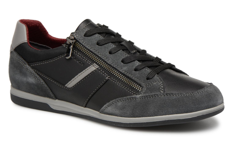 Geox U RENAN C U824GC (Noir) - Baskets en Más cómodo Nouvelles chaussures pour hommes et femmes, remise limitée dans le temps