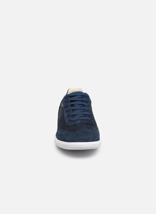 Baskets Geox U KEILAN B U824DB Bleu vue portées chaussures