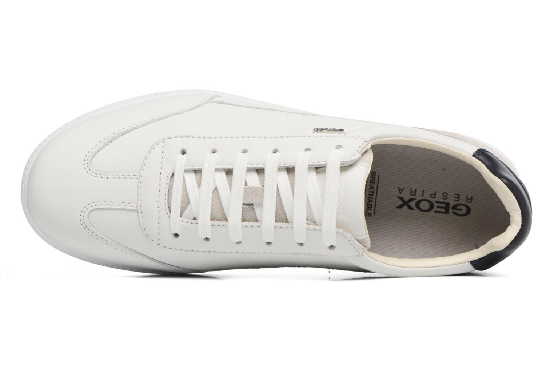 Sneakers Geox U KEILAN B U824DB Wit links