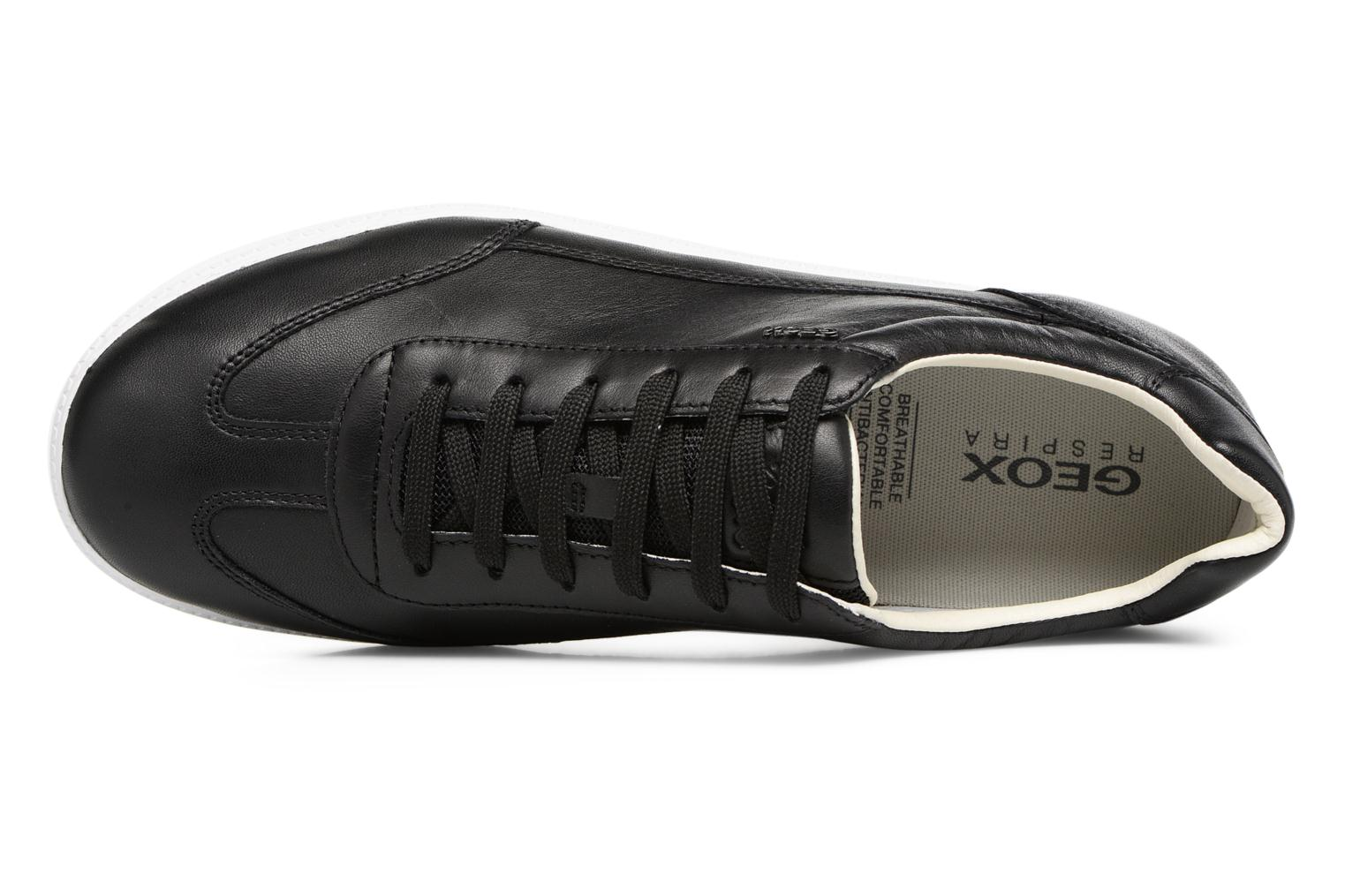 Sneakers Geox U KEILAN B U824DB Zwart links