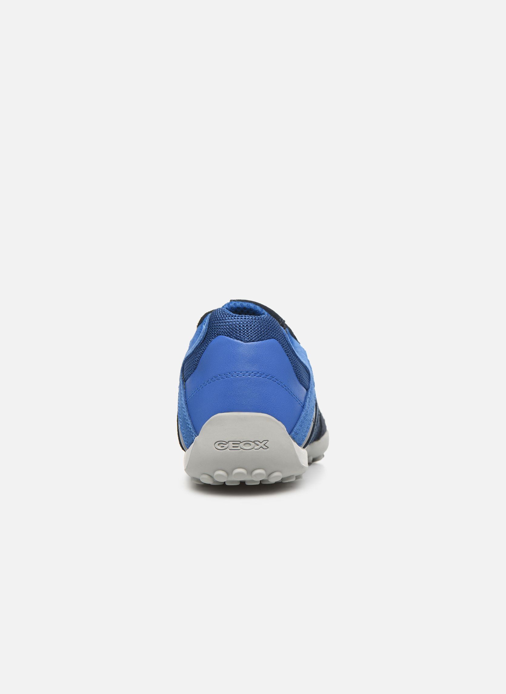 Trainers Geox U SNAKE E U8207E Blue view from the right