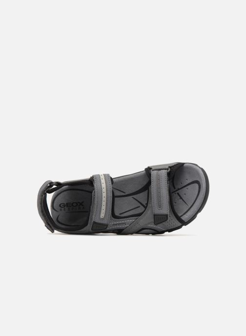 Sandales et nu-pieds Geox U S.STRADA D U8224D Gris vue gauche