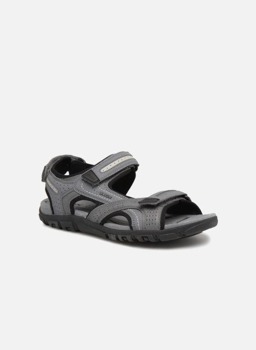 Sandales et nu-pieds Geox U S.STRADA D U8224D Gris vue détail/paire