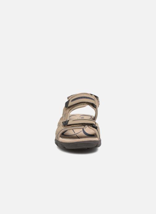 Sandales et nu-pieds Geox U S.STRADA D U8224D Beige vue portées chaussures