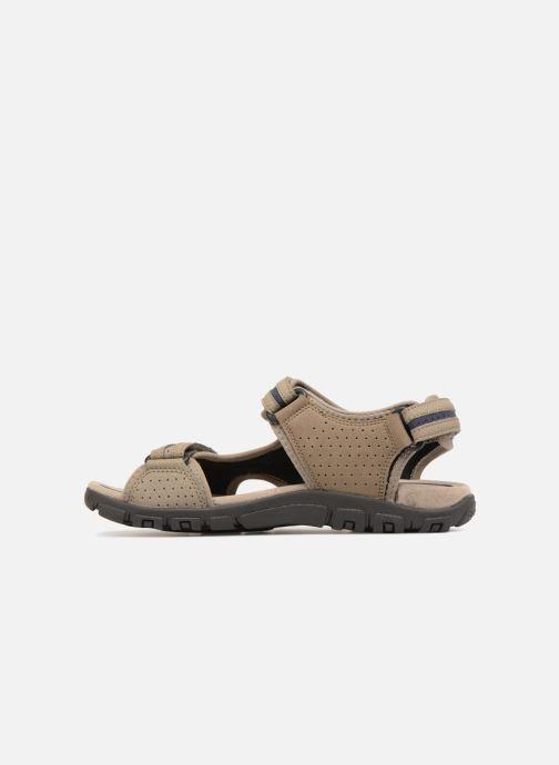 Sandales et nu-pieds Geox U S.STRADA D U8224D Beige vue face