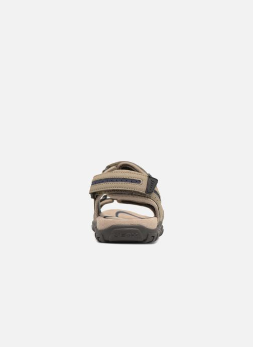 Sandales et nu-pieds Geox U S.STRADA D U8224D Beige vue droite