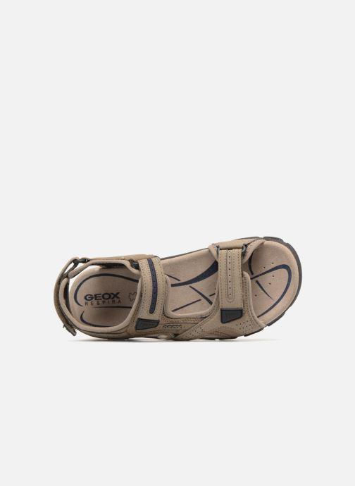 Sandales et nu-pieds Geox U S.STRADA D U8224D Beige vue gauche