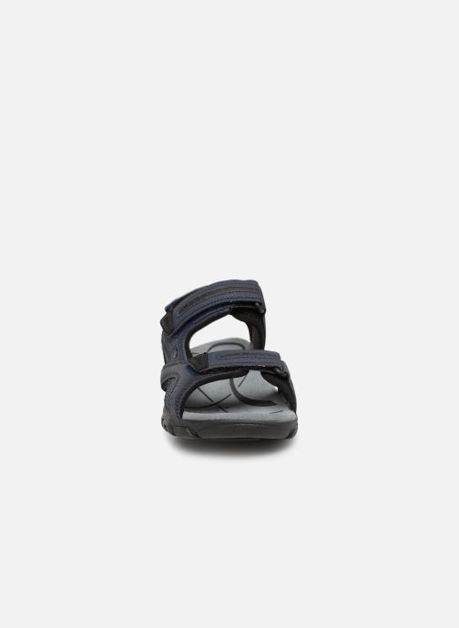 Sandali e scarpe aperte Geox U S.STRADA D U8224D Azzurro modello indossato