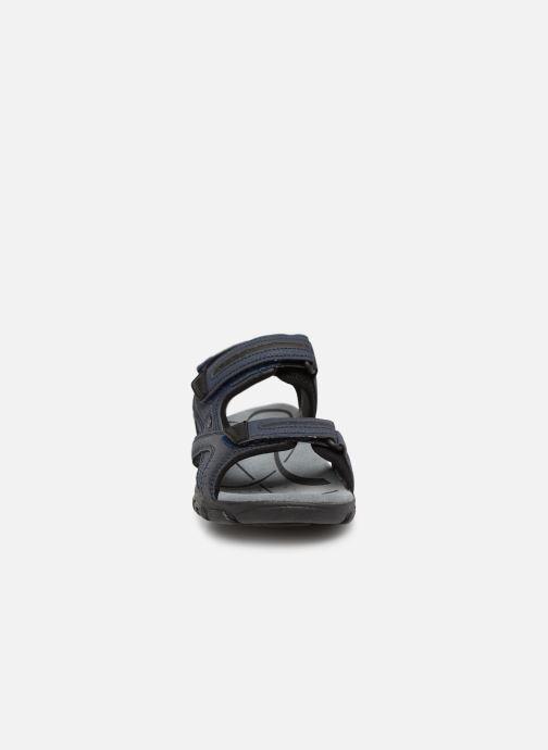 Sandales et nu-pieds Geox U S.STRADA D U8224D Bleu vue portées chaussures