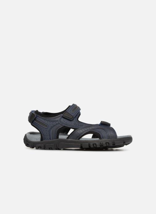 Sandales et nu-pieds Geox U S.STRADA D U8224D Bleu vue derrière