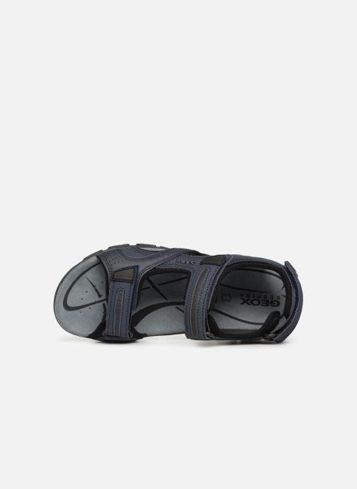 Sandali e scarpe aperte Geox U S.STRADA D U8224D Azzurro immagine sinistra