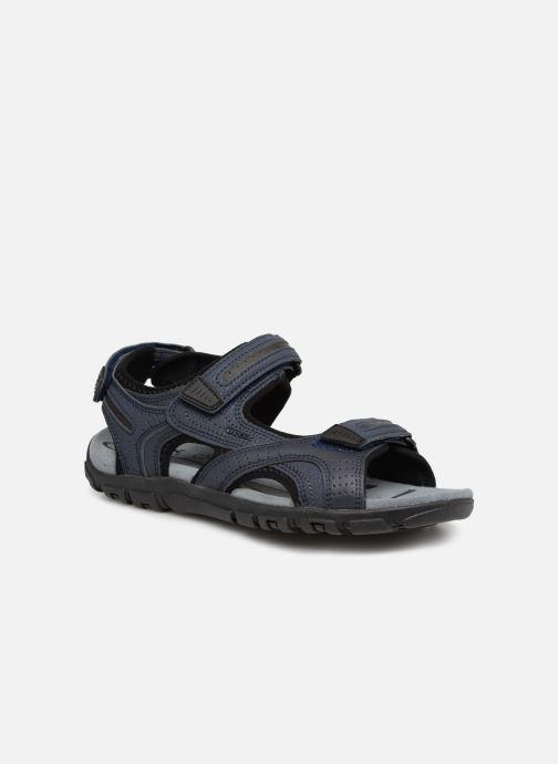 Sandales et nu-pieds Geox U S.STRADA D U8224D Bleu vue détail/paire