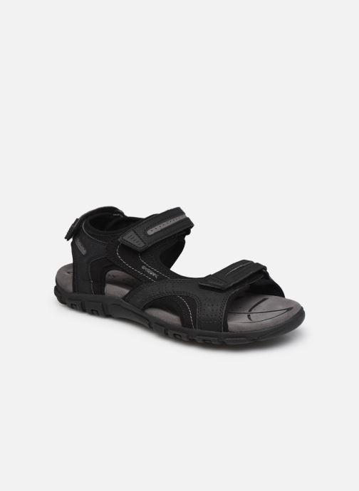 Sandales et nu-pieds Geox U S.STRADA D U8224D Noir vue détail/paire