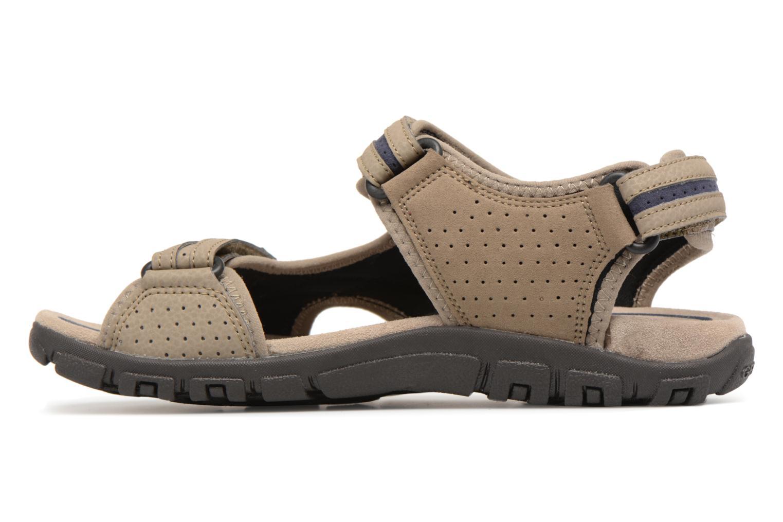 Sandals Geox U S.STRADA D U8224D Beige front view