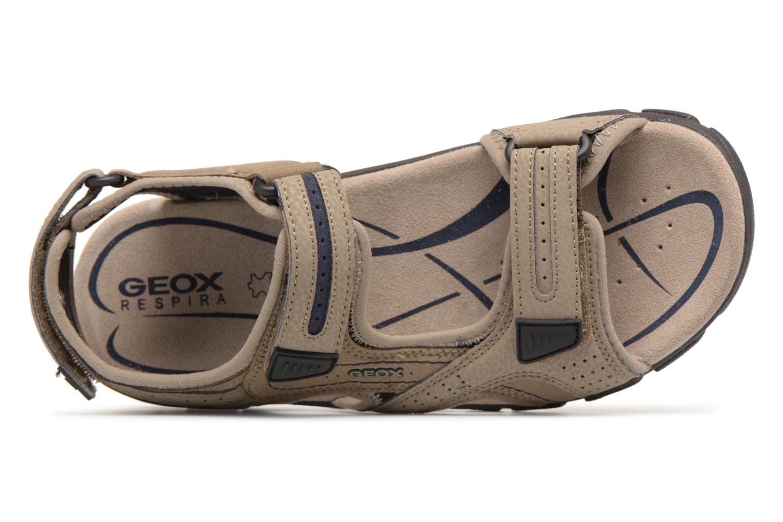 Sandals Geox U S.STRADA D U8224D Beige view from the left