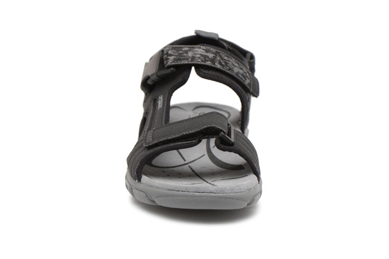 Sandals Geox U S.STRADA A U8224A Black model view