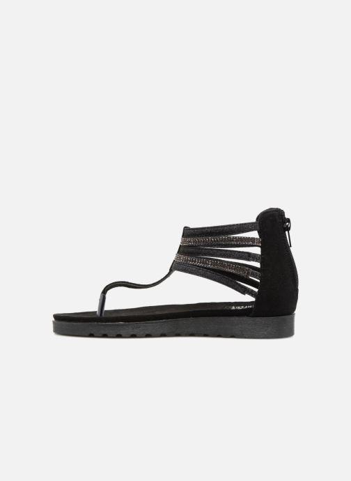 Sandales et nu-pieds Xti Amelia Noir vue face