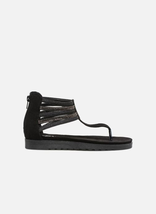 Sandales et nu-pieds Xti Amelia Noir vue derrière