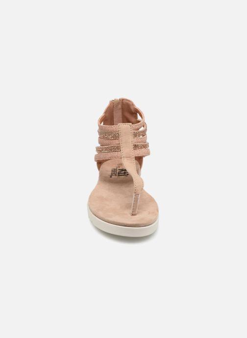 Sandales et nu-pieds Xti Amelia Beige vue portées chaussures